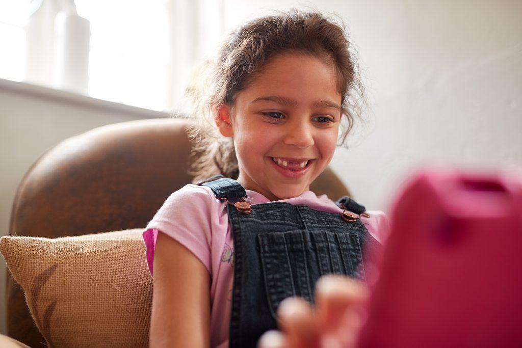 Kid in digital age